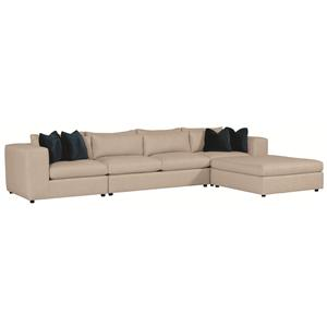 Bernhardt Como  Sectional Sofa