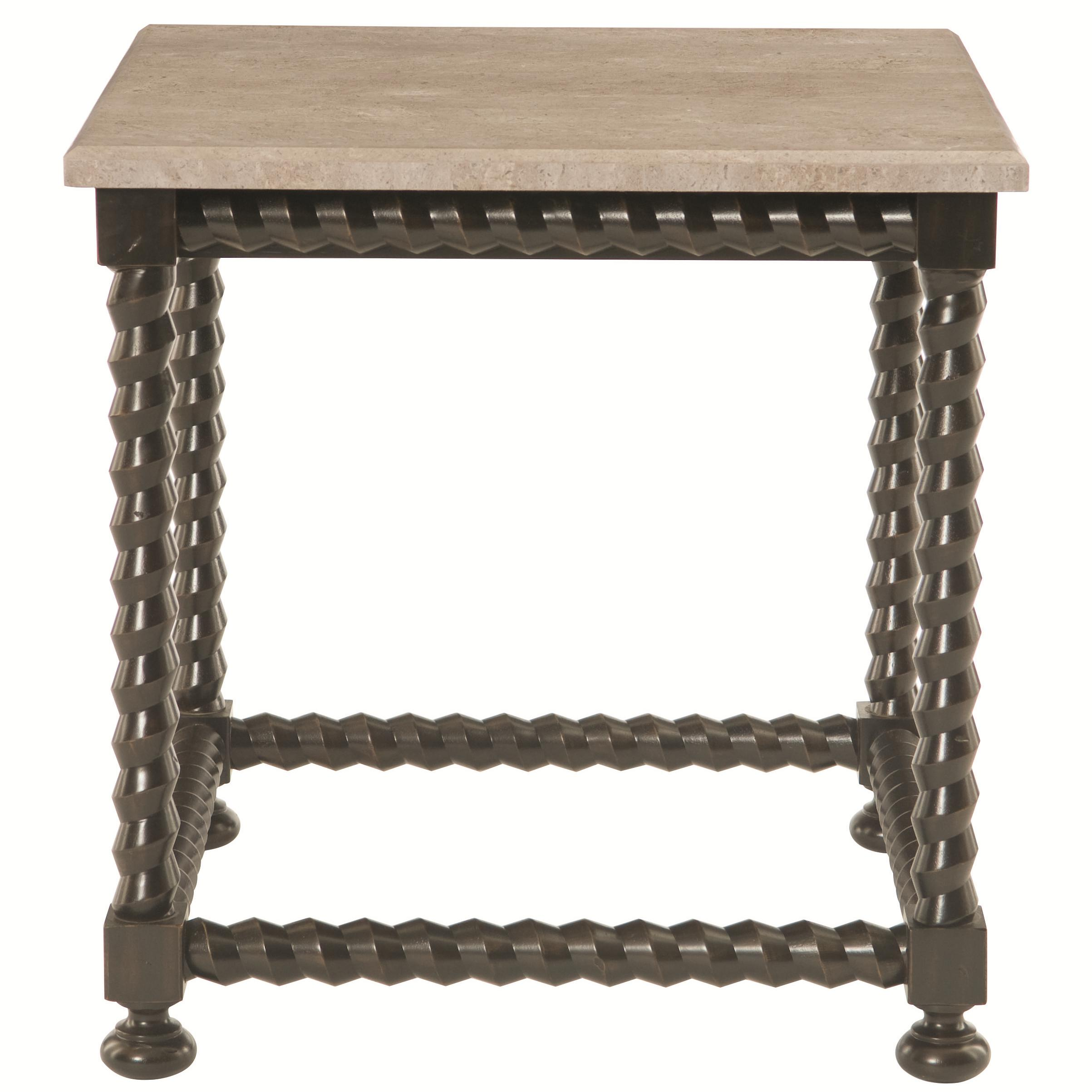 Bernhardt Alcott Ave Alcott Ave 2 Piece Square End Table - Item Number: 460-111+T