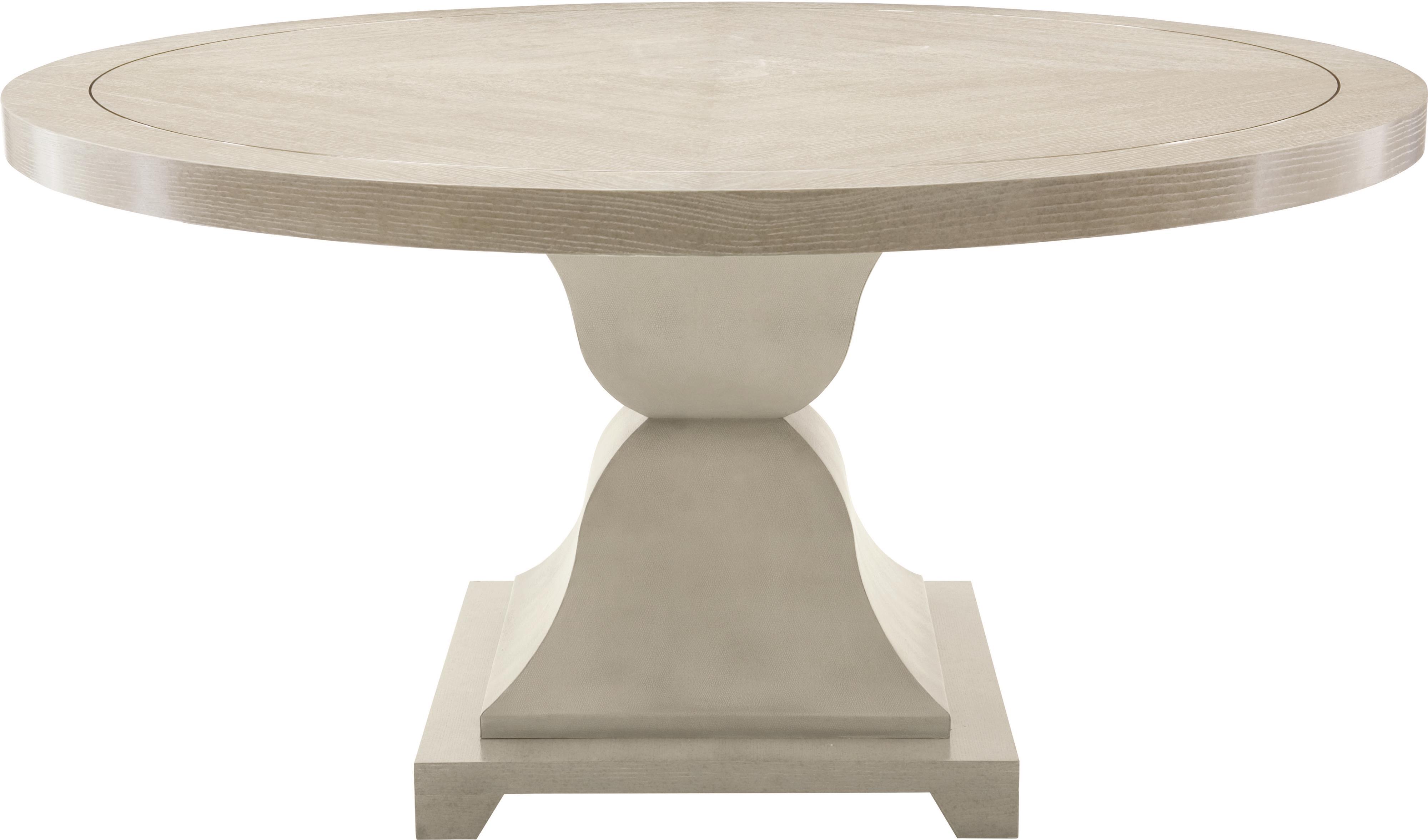 Bernhardt Criteria Round Dining Table - Item Number: 363-273G+1G