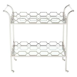 Bernhardt Criteria Metal Bar Cart