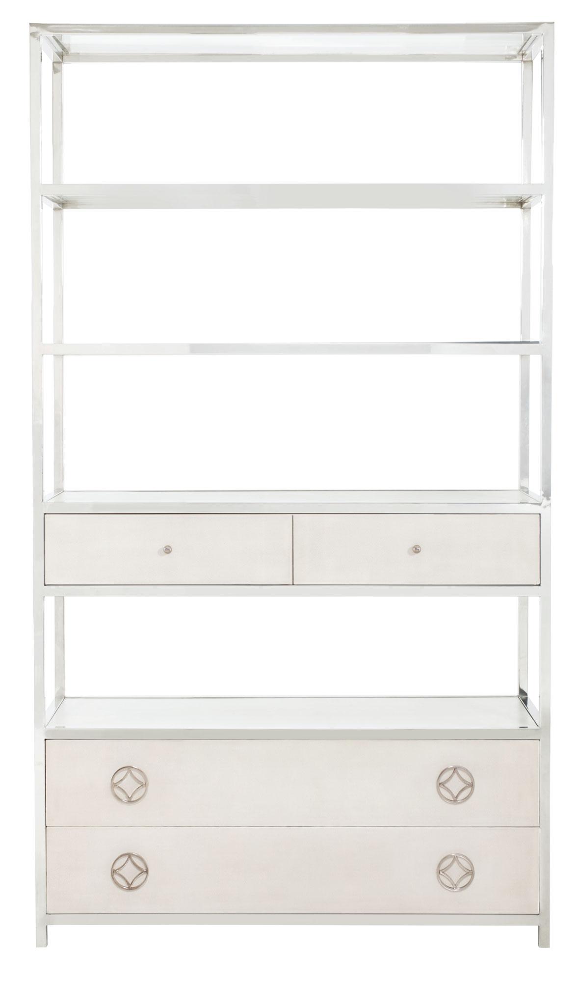 Bernhardt Criteria Metal Bookcase - Item Number: 363-812W