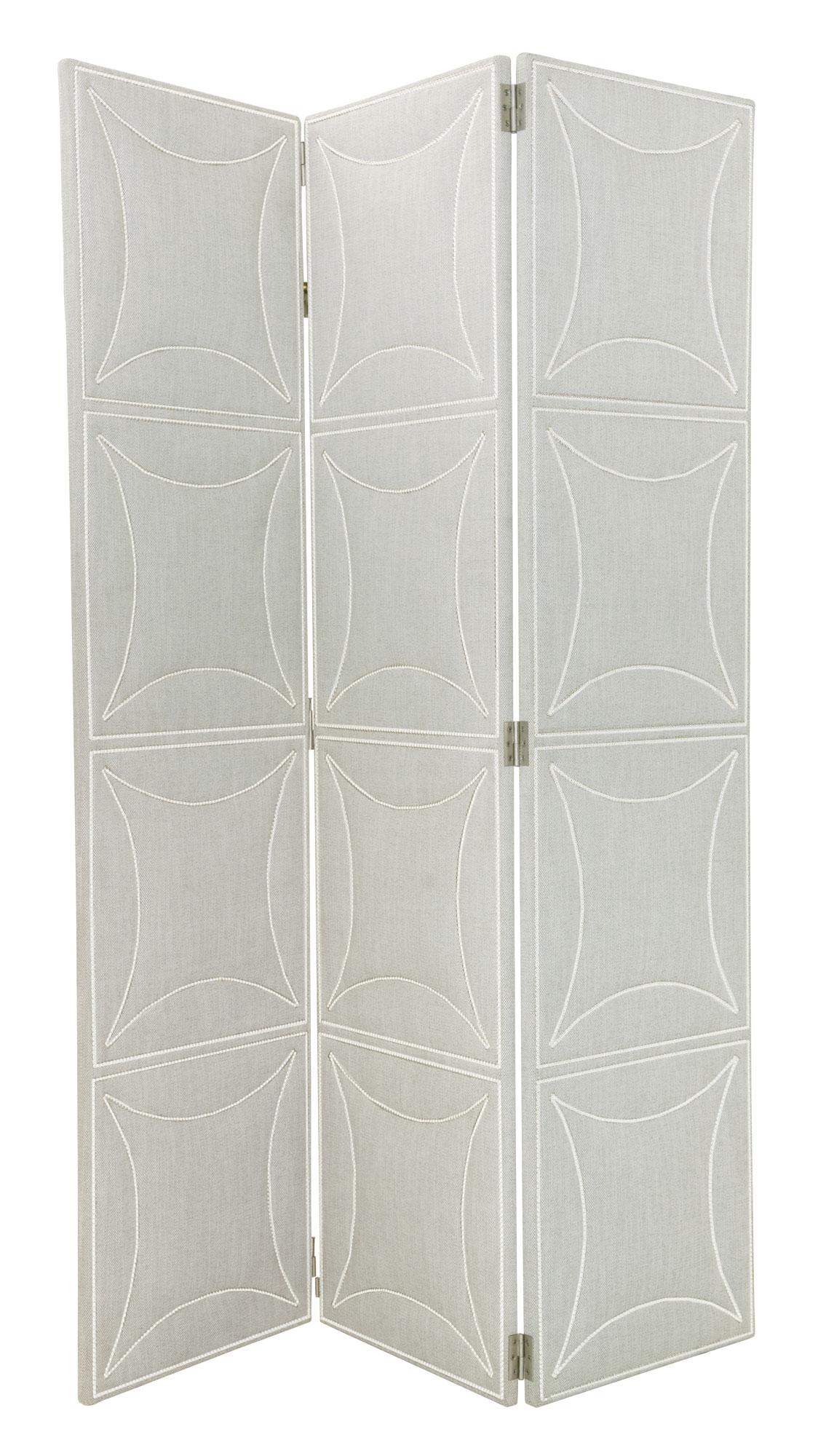 Bernhardt Criteria Upholstered Screen With Decorative