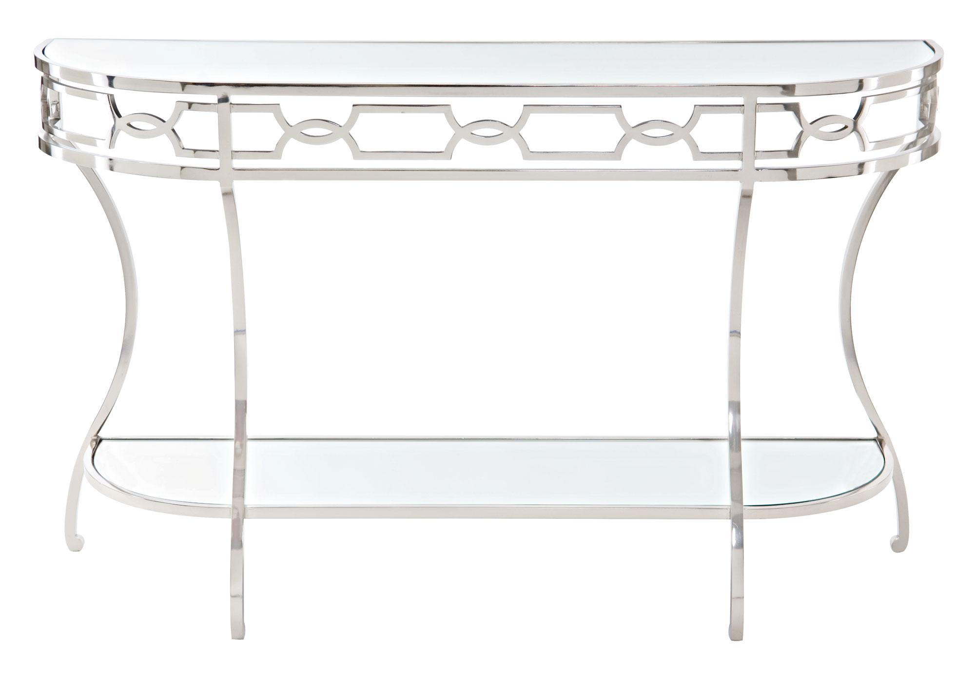 Bernhardt Criteria Metal Console Table - Item Number: 363-912
