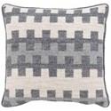 "Bernhardt Custom Decorative Pillows Knife Edge Square w/welt (21"" x 21"") - Item Number: DP121F"