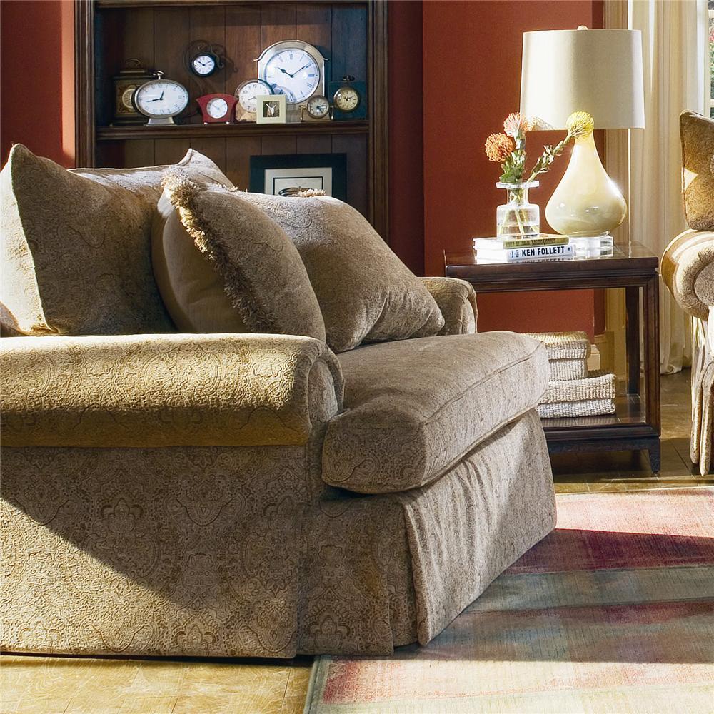 Bernhardt Danielle Chair & 1/2 - Item Number: T7763