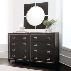 Bernhardt Decorage Dresser and Mirror Set