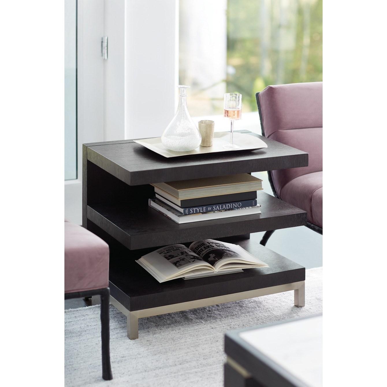 Bernhardt Decorage 380 121 Contemporary End Table Baer S