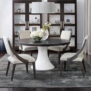 Bernhardt Decorage 5 Piece Table and Chair Set