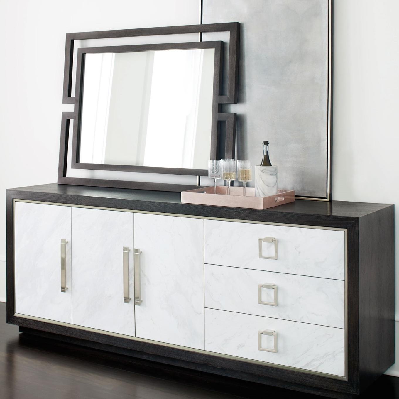 Bernhardt Decorage 380 331 Contemporary Mirror Baer S
