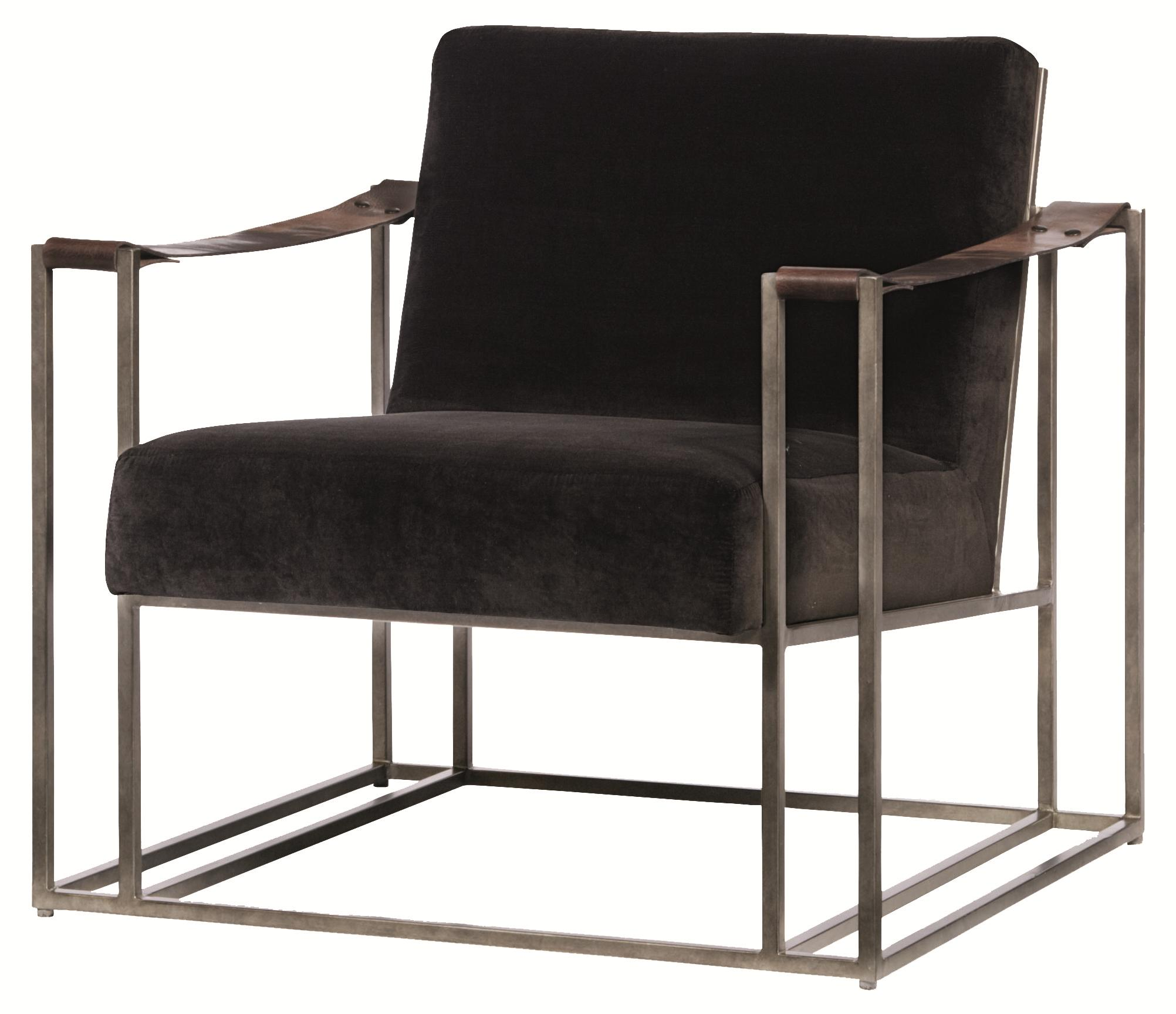 Bernhardt dekker b3212 high end accent chair with modern - Modern upholstered living room chairs ...