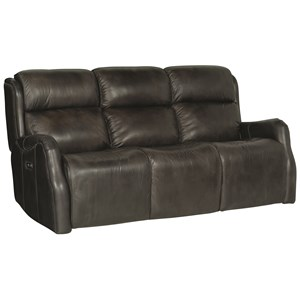 Bernhardt Derek Contemporary Reclining Sofa