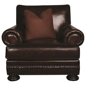 Bernhardt Foster Foster Leather Chair