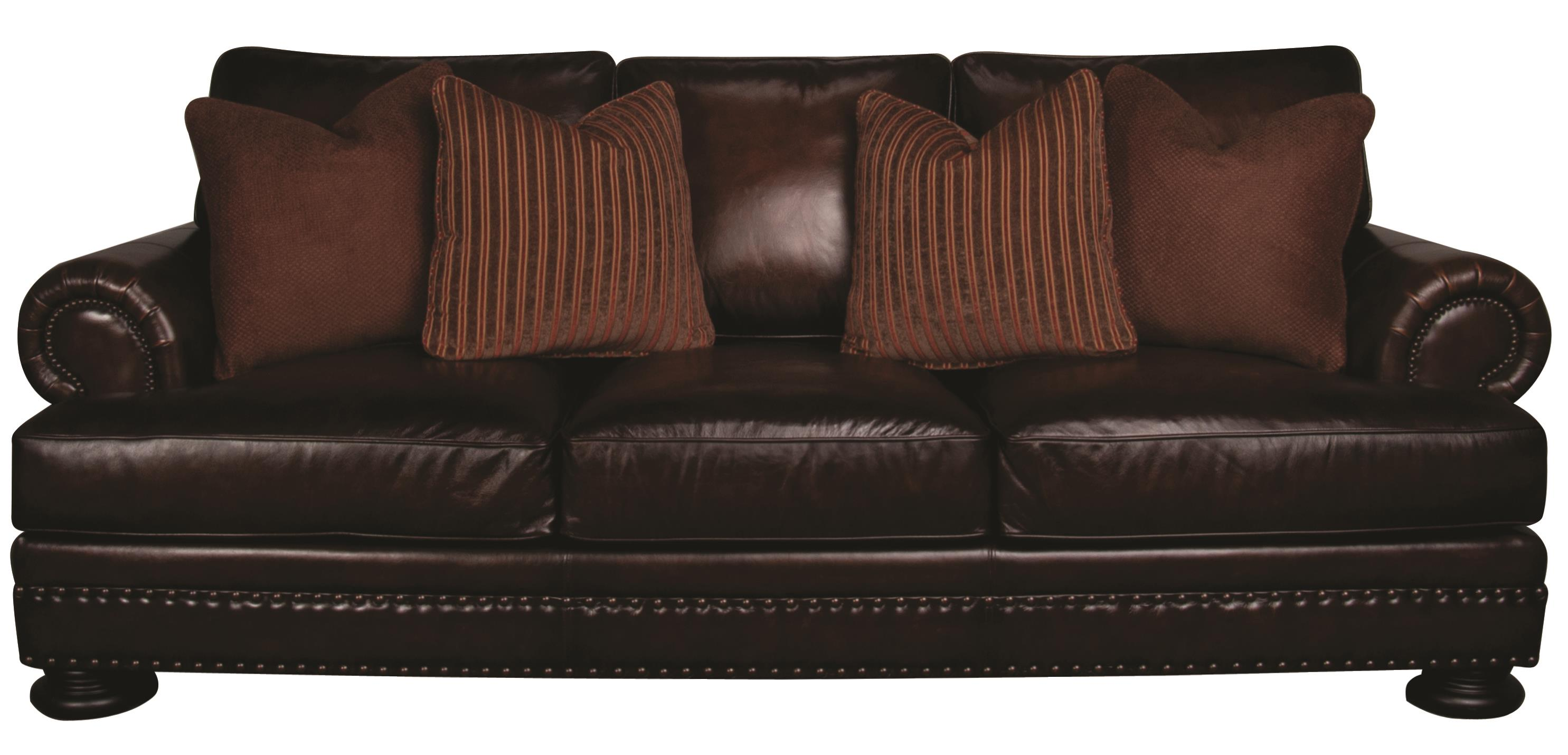 Bernhardt Foster Foster 100% Leather Sofa - Item Number: 592686377