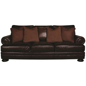 Bernhardt Foster Foster 100% Leather Sofa
