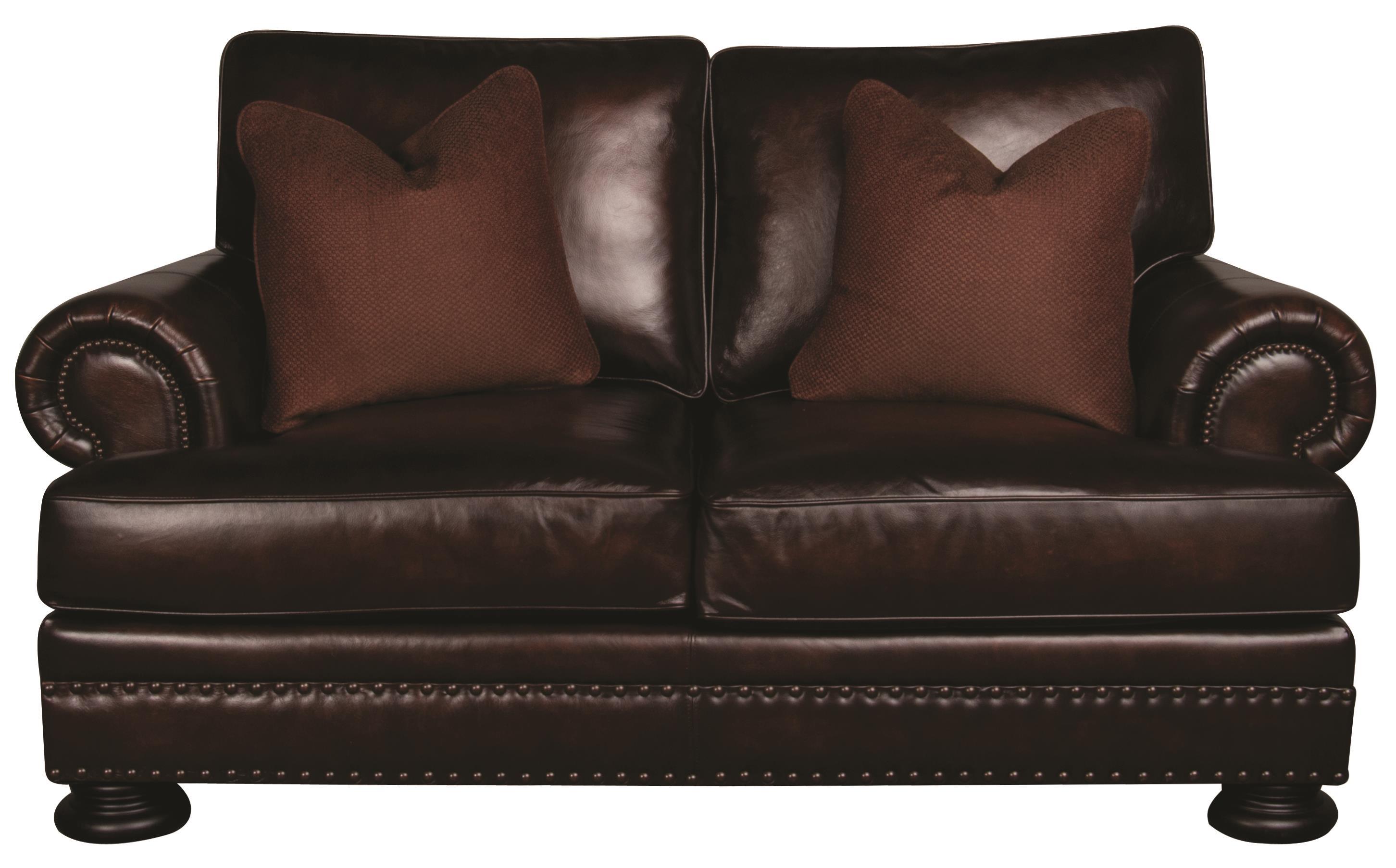 Bernhardt Foster Foster Leather Loveseat - Item Number: 685933074