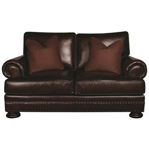 Bernhardt Foster Foster Leather Loveseat