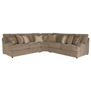 Bernhardt Eagan  Sectional Sofa