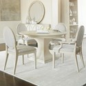 Bernhardt East Hampton 5 Piece Dining Set - Item Number: 395-274+395-275+2x562+2x561