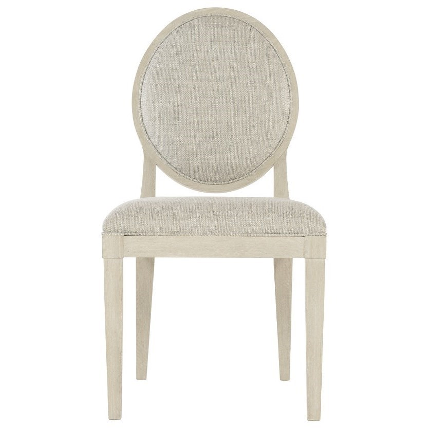 Customizable Oval Back Side Chair