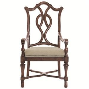Bernhardt Eaton Square Arm Chair