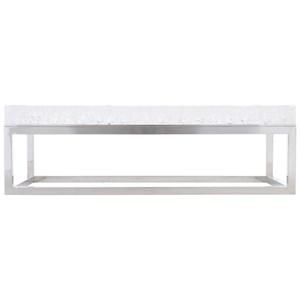 Rectangular Acrylic Cocktail Table