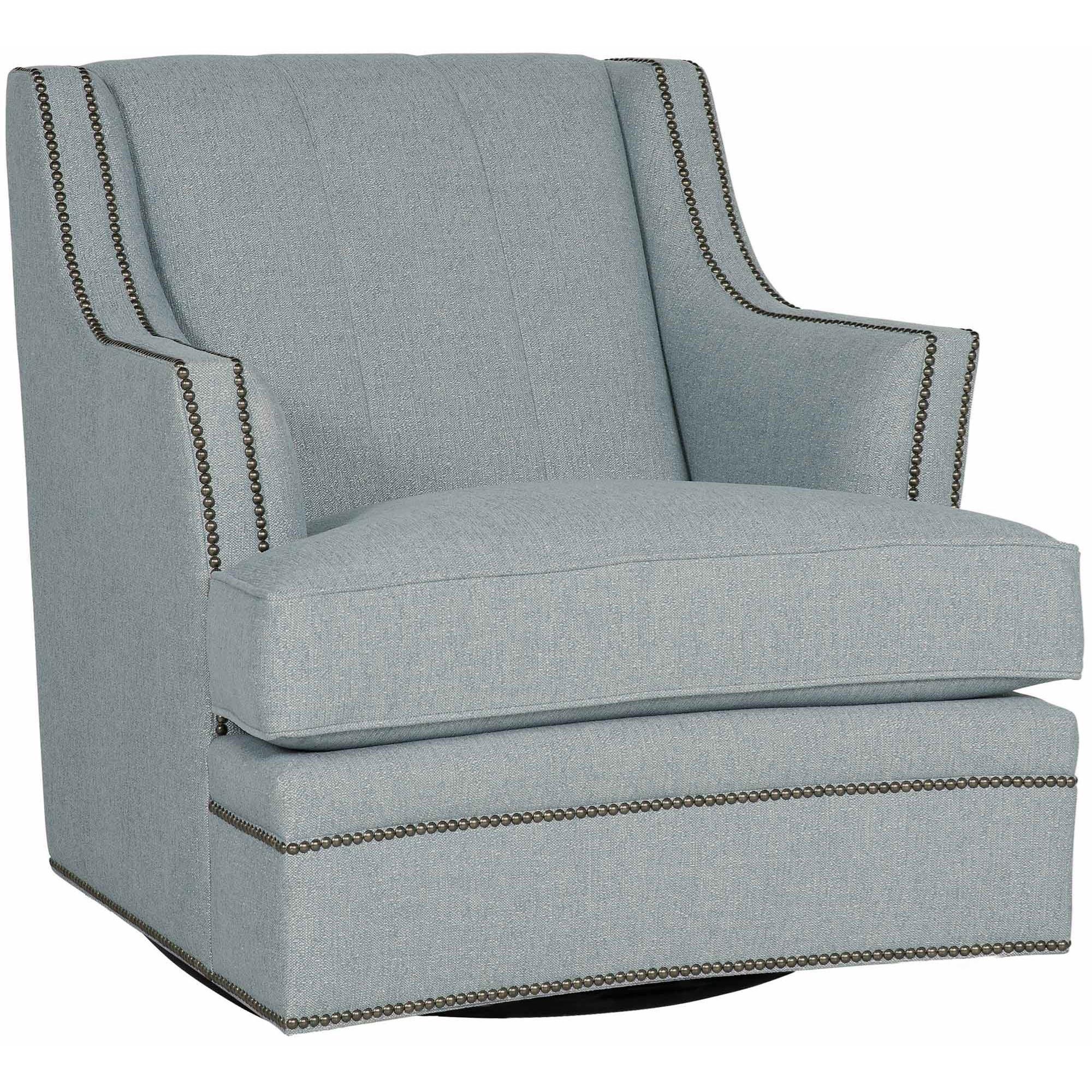 Prime Bernhardt Fairchild Transitional Channeled Back Swivel Chair Uwap Interior Chair Design Uwaporg