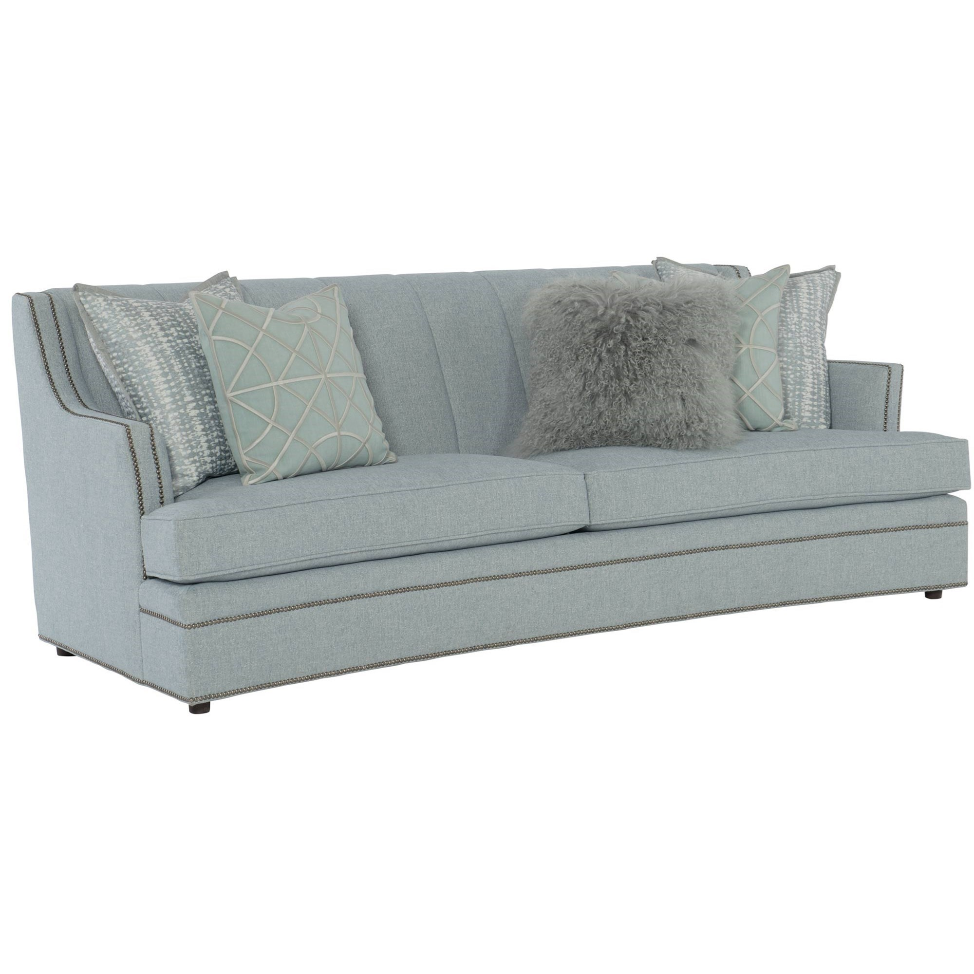 Peachy Bernhardt Fairchild Transitional Channeled Back Sofa With Forskolin Free Trial Chair Design Images Forskolin Free Trialorg