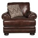 Bernhardt Foster Foster 100% Leather Chair - Item Number: 823027332