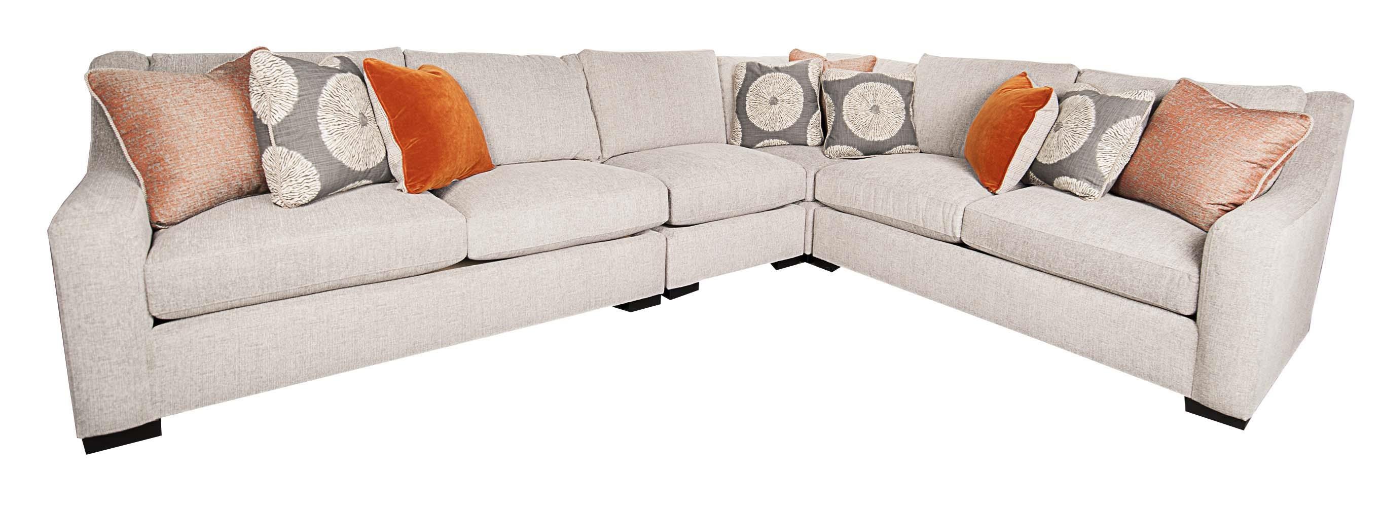 Bernhardt Germain 4 Piece Sectional Morris Home Sectional Sofas