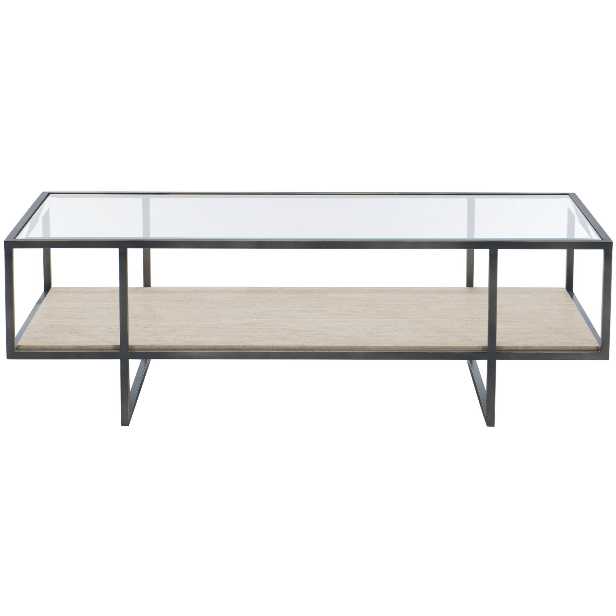 Metal Rectangular Cocktail Table