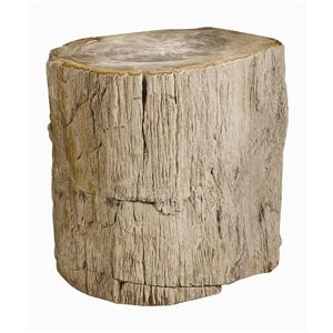 Bernhardt Interiors - Accents Petrified Wood Side Table