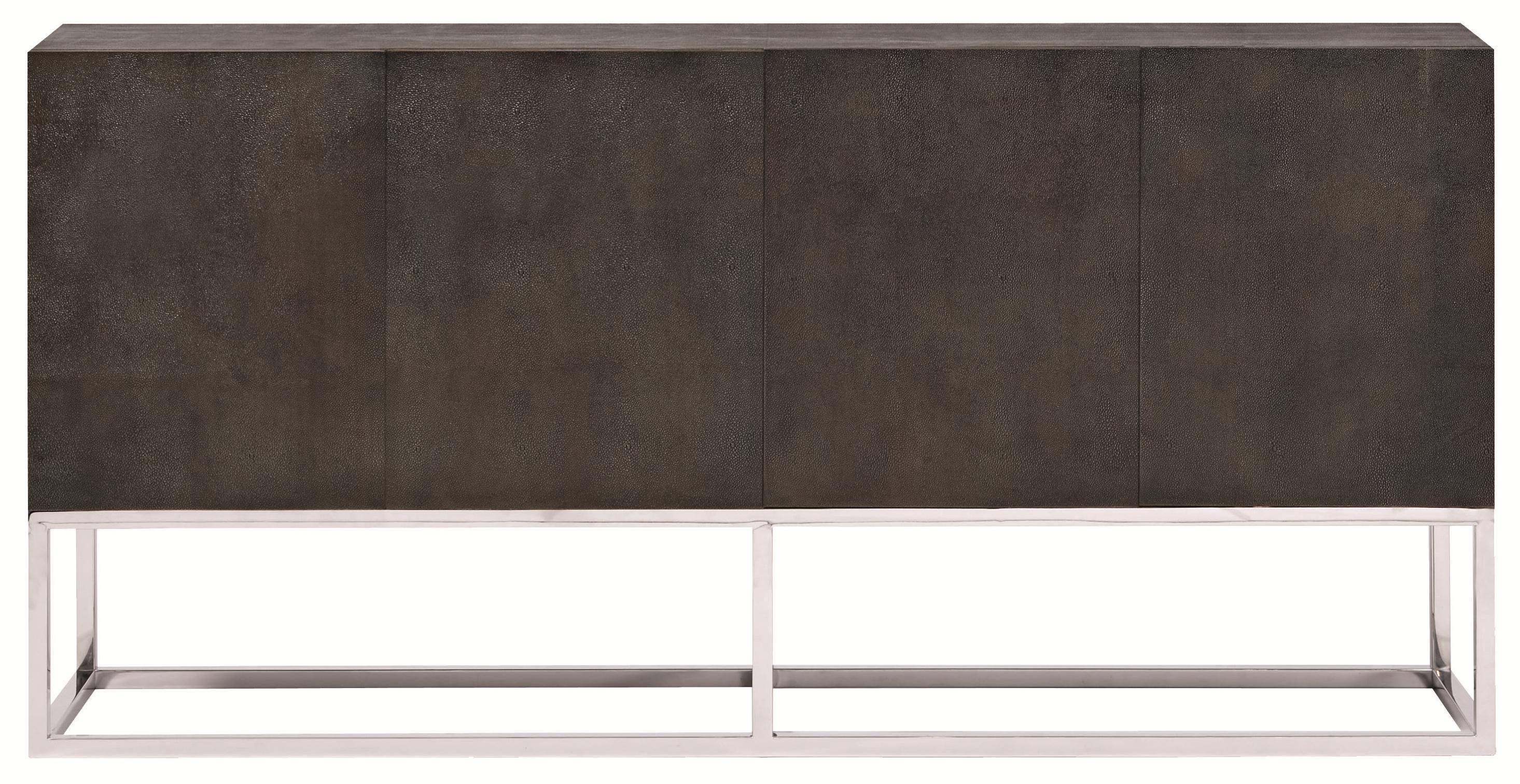 Bernhardt Interiors - Accents Zigrino Entertainment Console Buffet - Item Number: 330-849+330-850