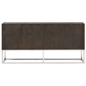 Bernhardt Interiors - Accents Zigrino Entertainment Console Buffet