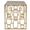 Bernhardt Interiors - Accents Fontana Desk with Agate Stone Top