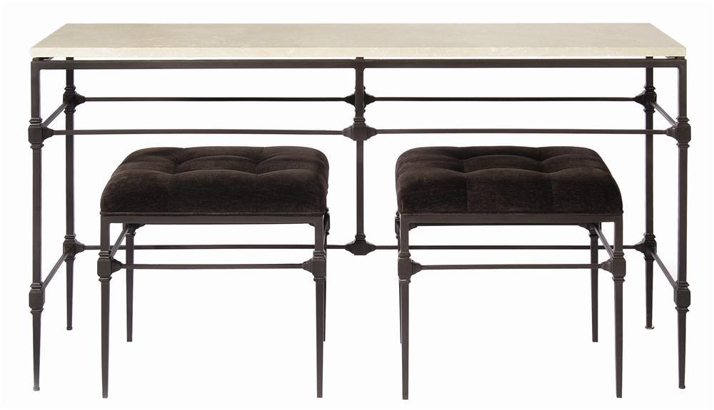 Bernhardt Interiors Accents Grayson Button Tufted Bench
