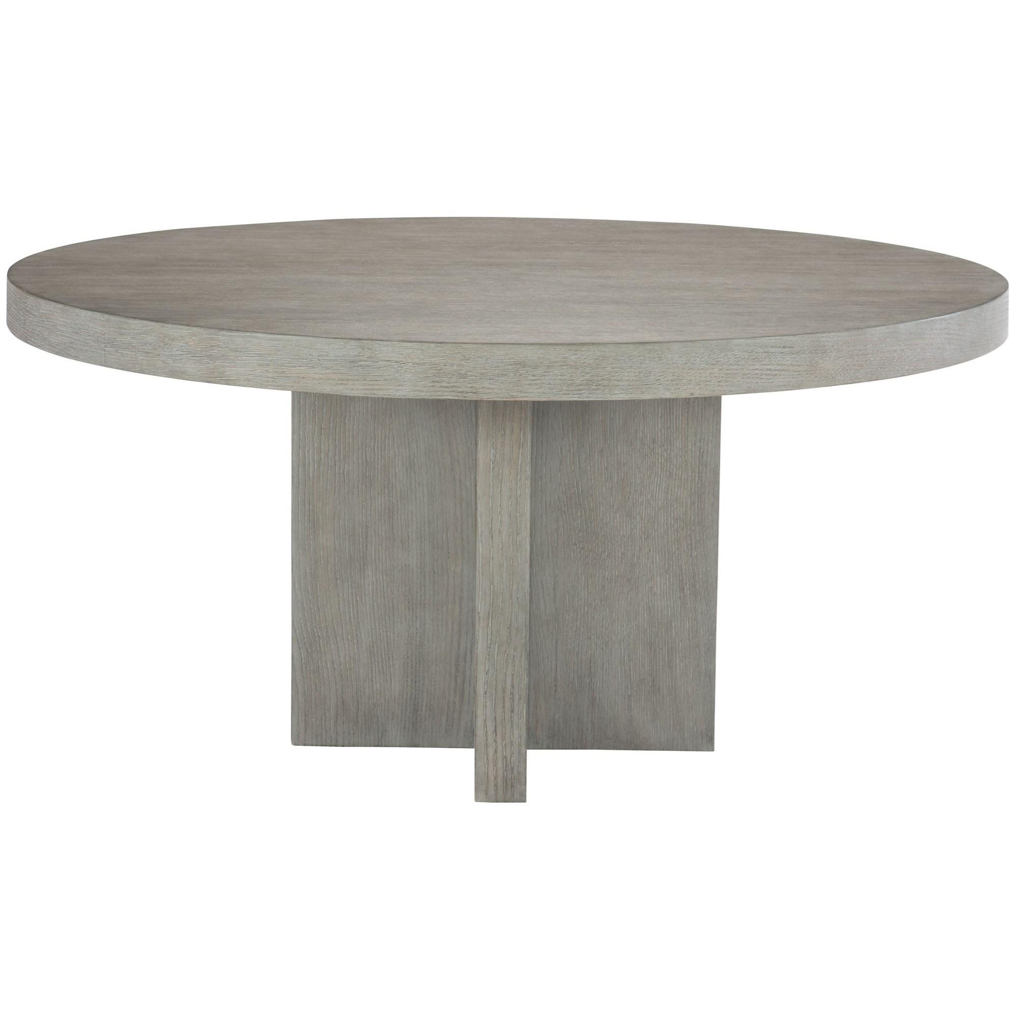 Interiors   Adler Contemporary Round Pedestal Dining Table By Bernhardt