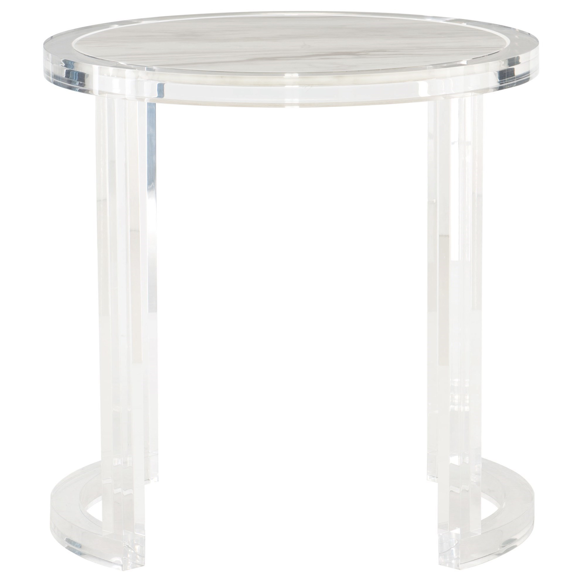 Cool Bernhardt Interiors Astra End Table With Jazz White Marble Theyellowbook Wood Chair Design Ideas Theyellowbookinfo