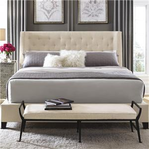 Bernhardt Interiors - Beds Maxime Queen Upholstered Bed