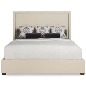 Bernhardt Interiors - Beds Cal King Drake Upholstered Bed