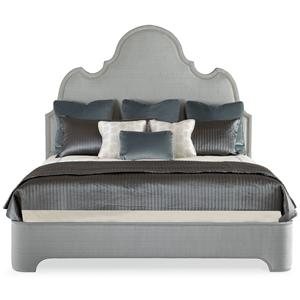 Bernhardt Interiors - Beds Queen Palatino Upholstered Platform Bed
