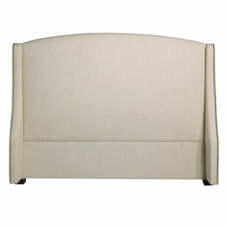 Bernhardt Interiors - Beds Queen Cooper Wing Headboard - Item Number: 754-H64