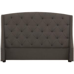 King Jordan Button-Tufted Wing Headboard