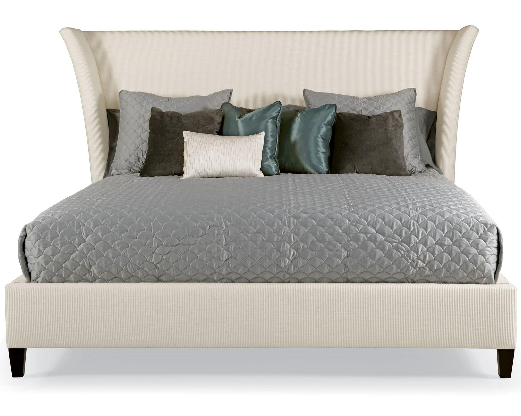 King Sienna Flare Upholstered Bed