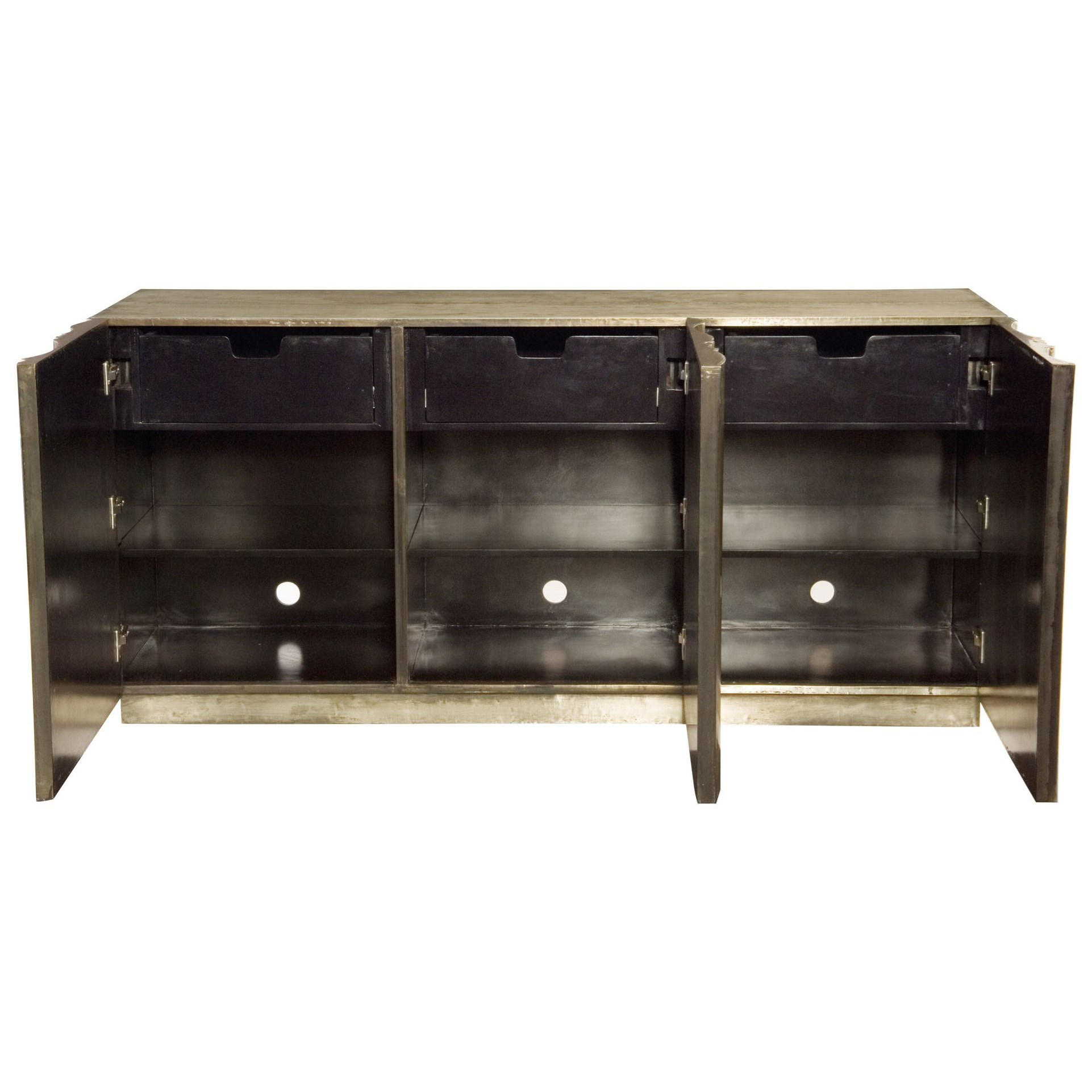 bernhardt interiors   dining 358 870 credenza with 3 touch