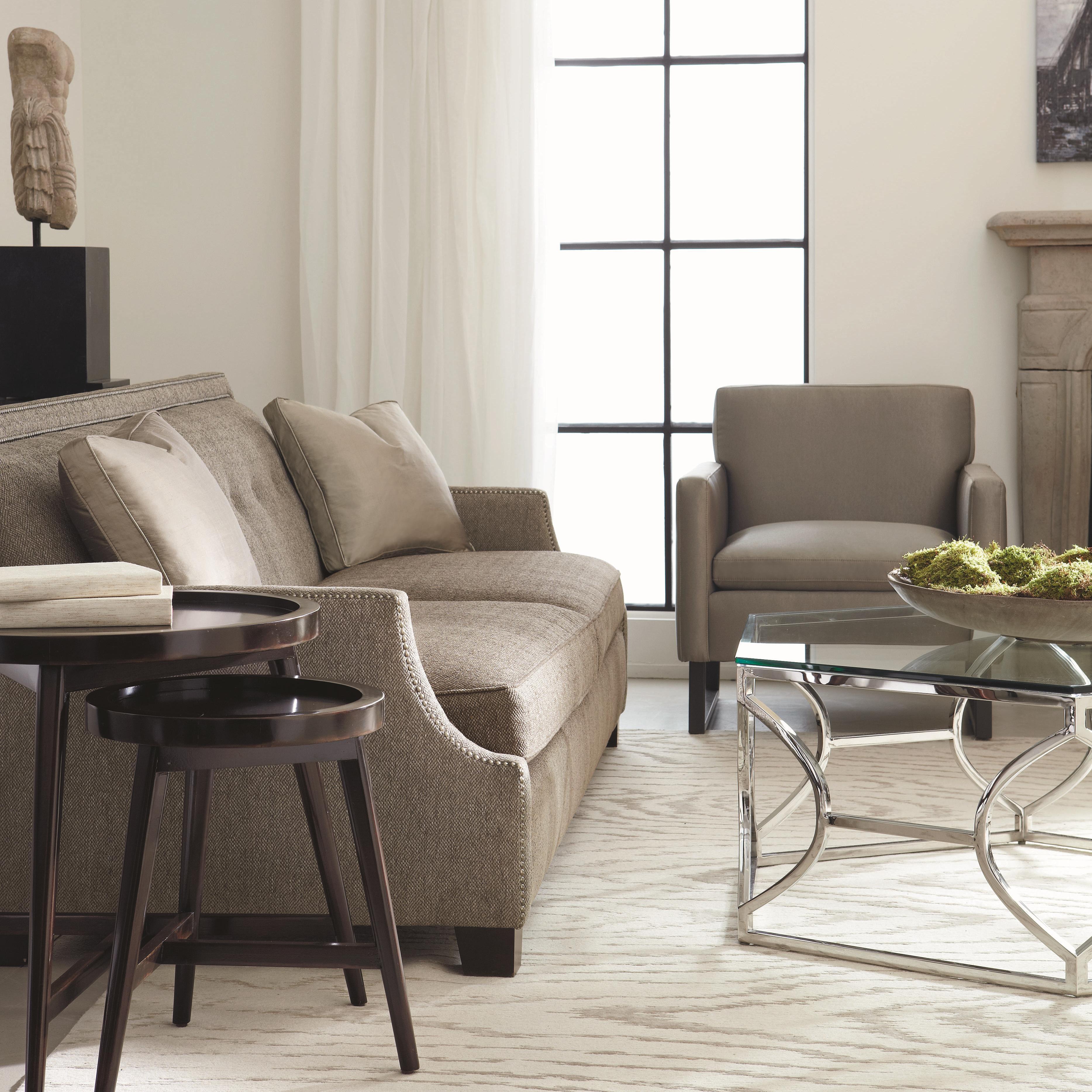 Bernhardt Interiors - Franco High End Transitional Sofa ...