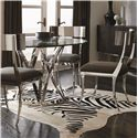 Bernhardt Interiors - Gustav Table and Chair Set - Item Number: 330-774+054P+4x585
