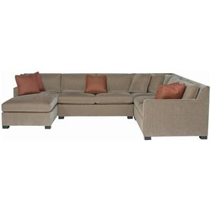 Bernhardt Interiors - Kelsey 4 Piece Sectional