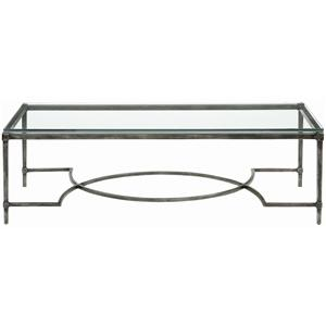 Bernhardt Interiors - Accents Palmer Metal Cocktail Table