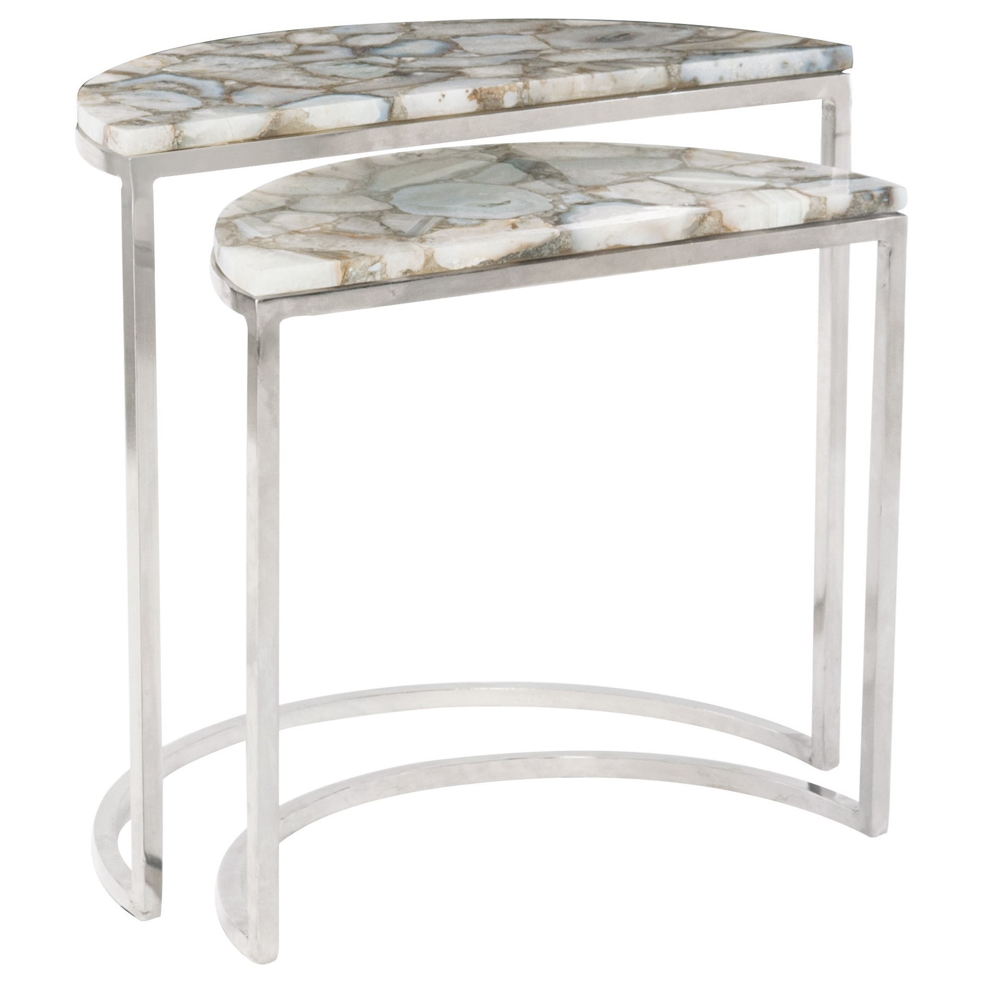 Bernhardt Interiors Accents Benitez Nesting Tables With