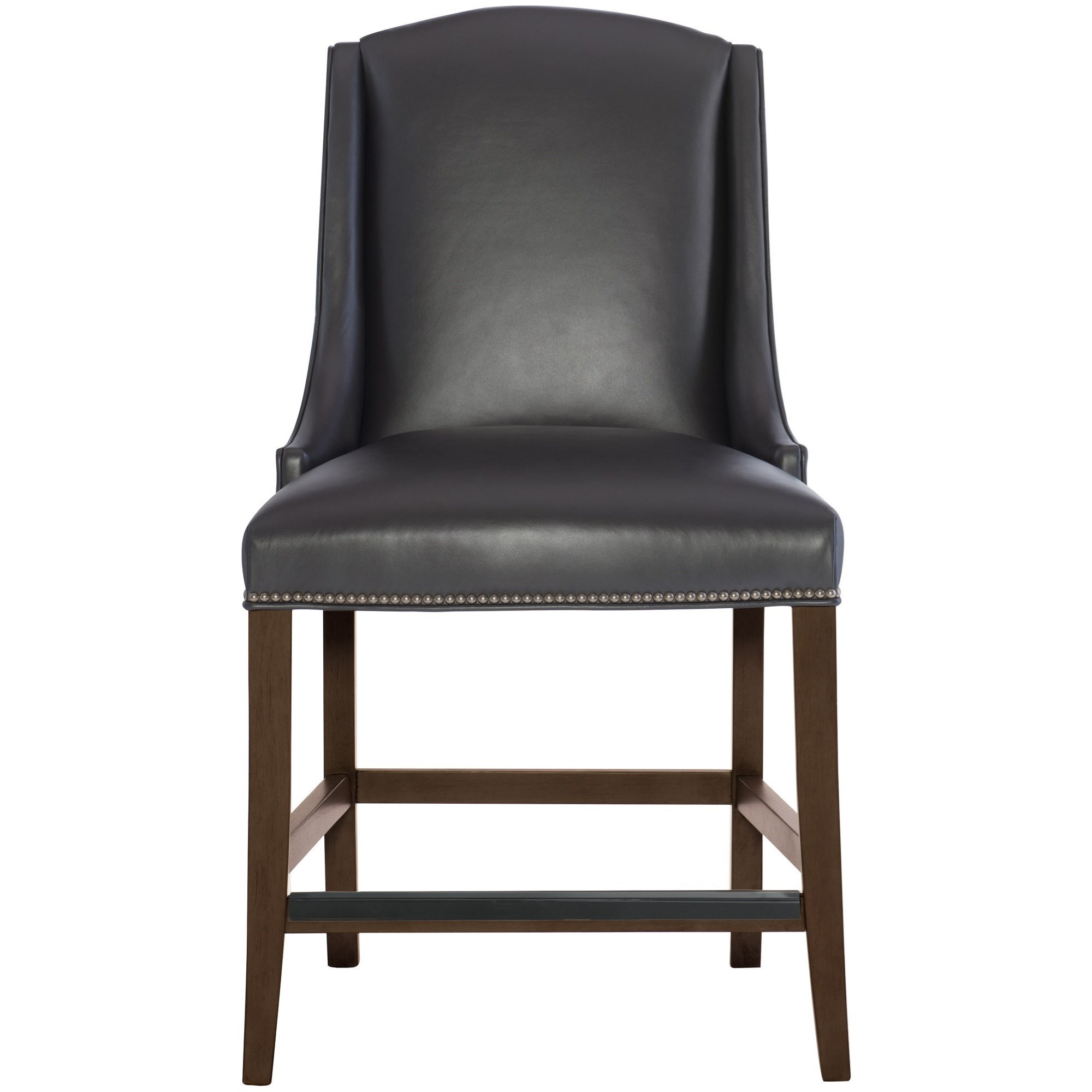 Bernhardt Interiors Slope Leather Counter Height Stool